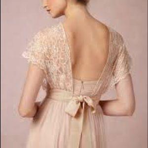 Jenny Yoo Lace Wedding Dress Topper
